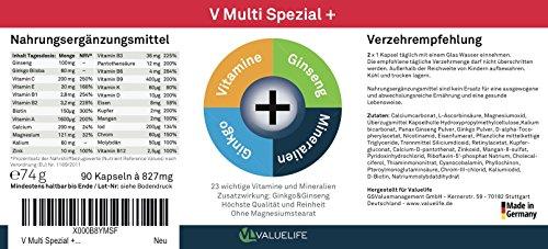 V Multi Spezial: Multivitamin