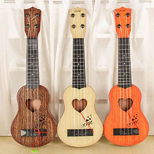 TOOGOO Musikinstrument Mini Ukulele Kinder Gitarre Spielzeug Kreative Schule Spielen Spiel Farbe:Zufaellig