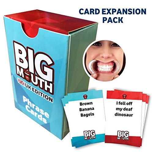 """Erweiterungspack 1 für englischsprachiges Familien-Kartenspiel """"Big Mouth"""""""