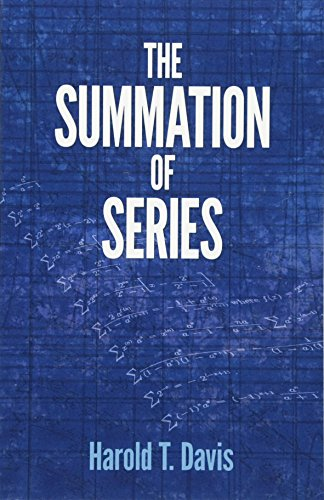 The Summation of Series (Dover Books on Mathematics)