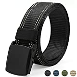 Fairwin Mens Tactical Gürtel, Nylon Breathable Military Style Gurtband Gürtel Herren Gürtel Casual Outdoor Army Gurtband Schnalle