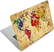 World Map 12.1 13 13.3 14 15 15.4 15.6 Inches Personalized Laptop Skin Sticker Decal Universal Netbook Skin St