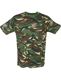 Kids Army Camouflage T-Shirt - Ages 2-14 (Age 7-8 Yrs)