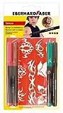 Eberhard Faber 559501 - Tattoo Marker 4er Blisterkarte