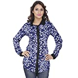 Alfa Fashion Women's Poly Crepe Floral S...