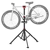 SONGMICS Fahrradmontageständer Reparaturständer mit Werkzeugablage
