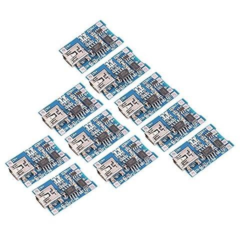 XCSOURCE 10pcs 1A 5V Mini USB TP4056 Lithium Battery Power