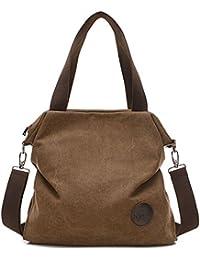 Damen praktisch und schön große Kapazität canvas Handtasche Schultertasche