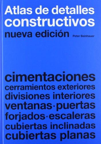 Atlas de detalles constructivos por Peter Beinhauer