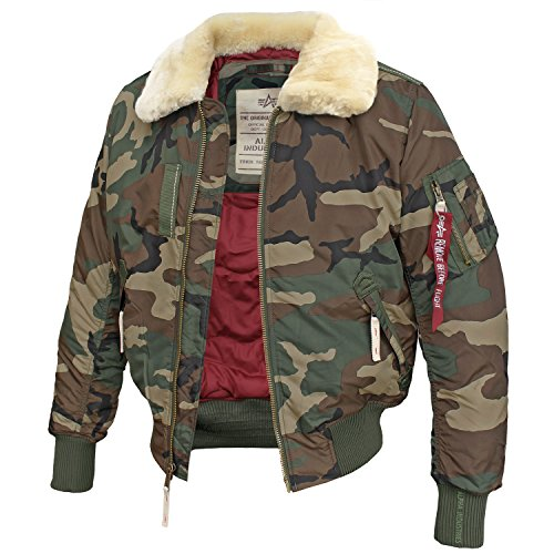 Alpha Industries Fliegerjacke Injector III Blouson Woodland