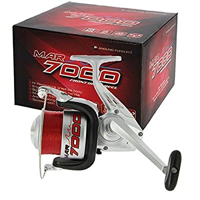 SEA FISHING REEL 1BB REEL WITH 15lb RED FISHING LINE FRONT DRAG from Angling Pursuits