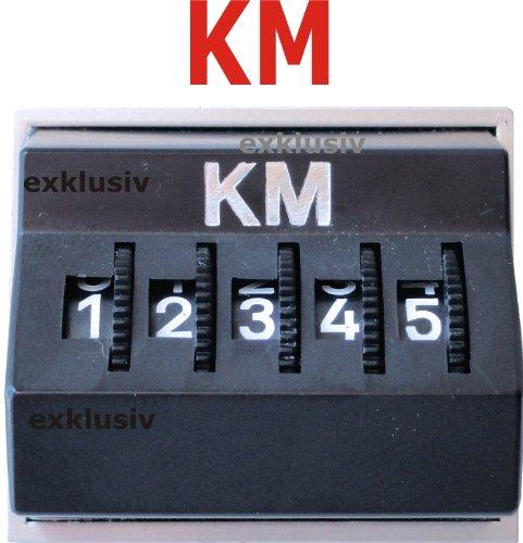 Preisvergleich Produktbild HR-Autocomfort Kilometerzähler Kilometermerker KM