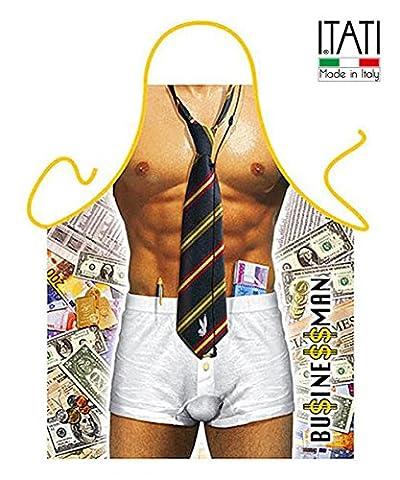 Tablier de cuisine pour homme, modèle pompier sexy dimensions: 75x 58cm Hombre