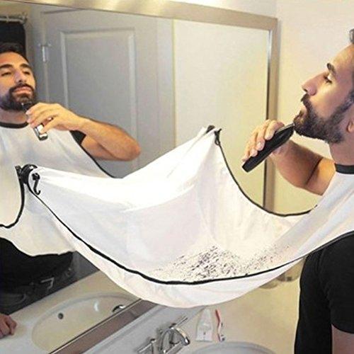 Grembiule da barba–Mantellina da barba da uomo, alla moda, accessorio da bagno creativo, idea regalo per papà, fidanzato e fratello - 2