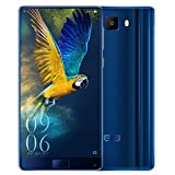 Elephone S8 4G Phablet Android 7.1 6.0 inch 2K Screen Helio X25 Deca Core 2.5GHz 4GB RAM 64GB ROM 21.0MP Rear Camera Front Fingerprint Scanner,BLUE
