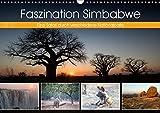 Faszination Simbabwe (Wandkalender 2019 DIN A3 quer): Bilder aus verschiedenen Nationalparks in Simbabwe (Monatskalender, 14 Seiten ) (CALVENDO Natur) -