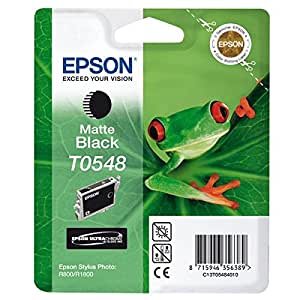 Epson Ink Cartridge for Stylus Photo R800/R1800 - Matte