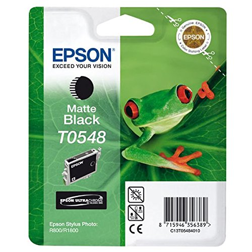 Epson C13T05484010 - Cartucho de tinta, color negro mate