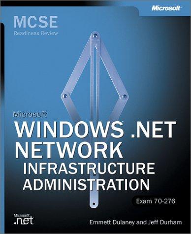 MCSE MS WIN.NET NET INFR RR (MCSE Readiness Review) por MICROSOFT PRESS