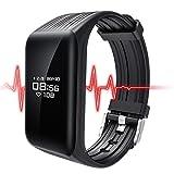 ATB K1Fitness Tracker aus 2017, mit Herzfrequenz-Monitor, Schlafmonitor, wasserdicht, geeignet für Training, Laufen, Gesundheit, Tagesziele, Trainingspläne