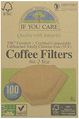 IF YOU CARE Coffee Filters No 2 100filt (PACK OF 1)