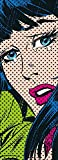 Fototapete IT'S OVER 202x73 Marvel Comic-Heldin, weinende Frau Lichtenstein-Stil