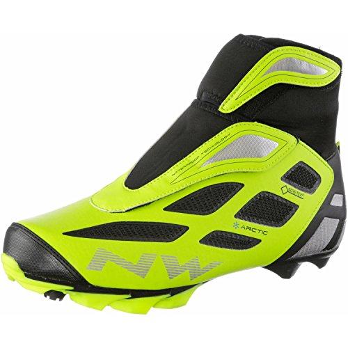 Northwave Celsius Arctic 2 GTX MTB Winter Fahrrad Schuhe gelb/schwarz 2016: Größe: 42