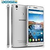DOOGEE X5 Max Pro Smartphone, 5 Pollici HD IPS Display, 4G Android 6.0 Telefono Cellulari Doppia SIM - 16 GB Memoria Interna 2GB RAM - Fotocamera 8.0MP - 4000mAh Impronta Digitale Cellulare - Bianca