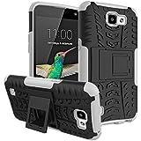 Dooki, LG K4 Funda, Pata de Cabra Escabroso Fuerte Tenaz [Alto Impacto] [Tarea Pesada] [A Prueba de Choques] [Resistencia a las Caídas] [Híbrido 2 en 1] Duro Silicona Caucho Doble Capa Protectore Teléfono Caso Carcasa Para LG K4