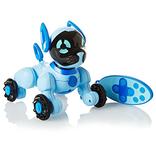 Wow Wee- Chipper Perro Robótico Chippies, Color Azul (WowWee 3818)