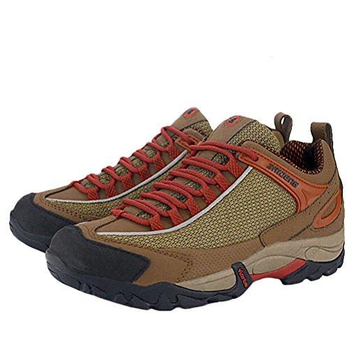matchlife Chaussures de trekking randonnée Ressort neuves pour hommes - Khaki-Style2