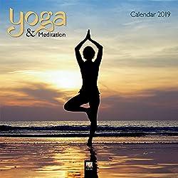 Yoga & Meditation 2019: Original Flame Tree Publishing-Kalender (Square)