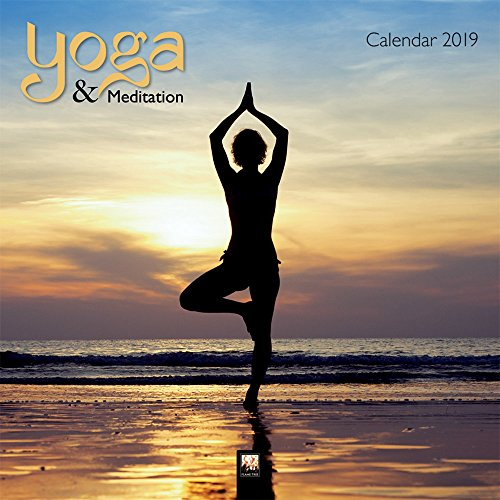 Yoga & Meditation Wall Calendar 2019 (Art Calendar) (Square) por Inc Browntrout Publishers