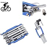 FASTPED® Unisex 11 in 1 Bicycle Repair Tools Sets Multi-Purpose Wrench Mountain Bike Toolkit