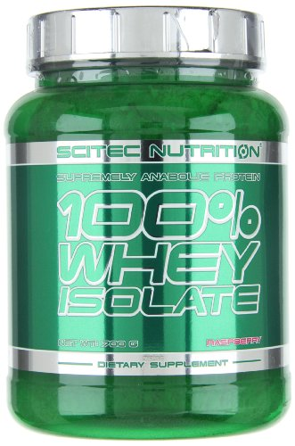 Scitec Nutrition 100% Whey Isolate protéine framboise 700 g