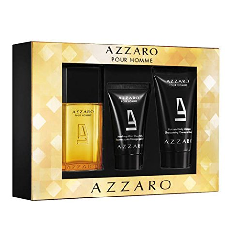 Azzaro After Shave Spray (AZZARO POUR HOMME REISEKIT (EDT SPRAY 30 + Aftershave Balsam 30ml in TUBE + H & B 50))