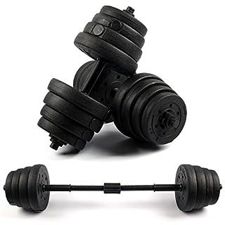 MultiWare Dumbbell Set 30kg Weights Dumbells 2pcs