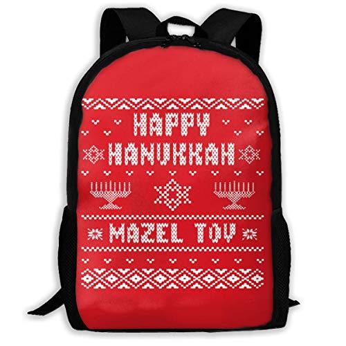 BUGKHD Hanukkah - Mochila viaje portátil 17 pulgadas