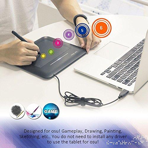 Xp-pen G540 Osu! Grafiktablett Pen Tablett (G540, Schwarz