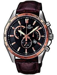 Casio Edifice – Herren-Armbanduhr mit Analog-Display und Echtlederarmband – EFR-510L-5AVEF