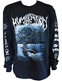 HUMILIATION - Cloaked In Courage - Longsleeve Longarm Shirt - Größe Size XL
