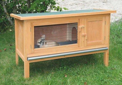 Kerbl Kaninchenstall Fred mit Wanne und Gitterfront, einstöckig - 2