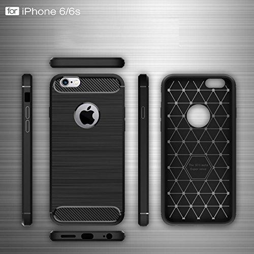 "iPhone 7 Coque, WindCase Resilient TPU Protection Drop Housse Shockproof Robuste Impact Armure Defender Etui Case pour iPhone 7 4.7"" Menthe verte Menthe verte"