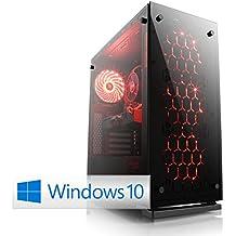 Gaming-PC - BoostBoxx Advanced 3580 (Gamescom Edition) inkl. Windows 10 Home - AMD Ryzen 7 1700X 8x 3400 MHz, 240GB SSD, 2000GB HDD, 16GB DDR4-RAM, ASUS Mainboard, GeForce GTX1070, 7.1 Sound, GigLAN