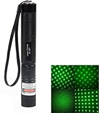 V Moda Green Laser Pointer Prenstation Pen Disco Light with Charger