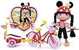 I Love Minnie Doll Romantic Bike