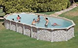 Pool Dream Pool Mykonos Steinoptik 7,30x 3,75x 1,32m–Gre kitprov7388p