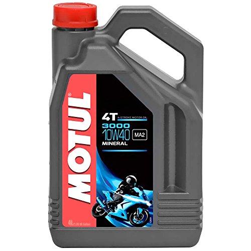 Preisvergleich Produktbild Motul Öl Motorrad 10W40 4T Min 3000 4L 104046 3374650246895