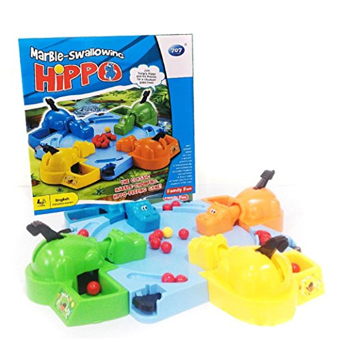 QUINTRA Hungry Hungry Hippos Kreative Desktop Spielzeug Interaktive -