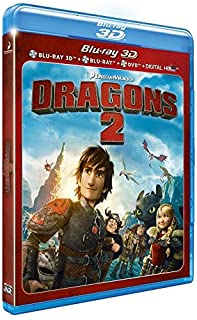 Dragons 2 [Combo Blu-ray 3D + Blu-ray + DVD + Copie digitale] [Import italien] (B00LFJSVHY) | Amazon price tracker / tracking, Amazon price history charts, Amazon price watches, Amazon price drop alerts